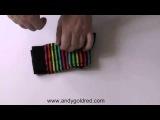 Как правильно и быстро складывать носки / How to fold rainbow socks