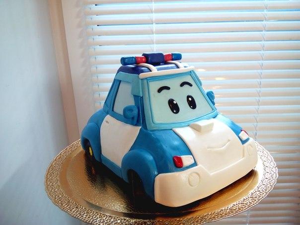 Детский торт робокар поли источник
